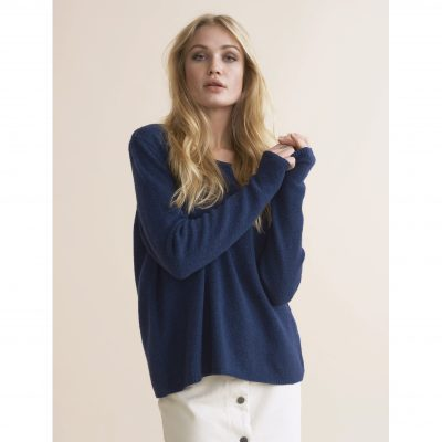 8888ccb23576 Melfi Sweater – Navy. 800