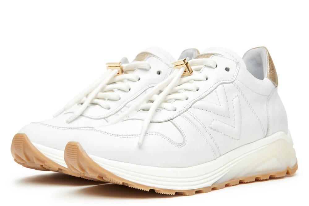 0fb7bf3d337 Swami Vitello Sneakers - Bianco platino | Bundgaards-Silkeborg
