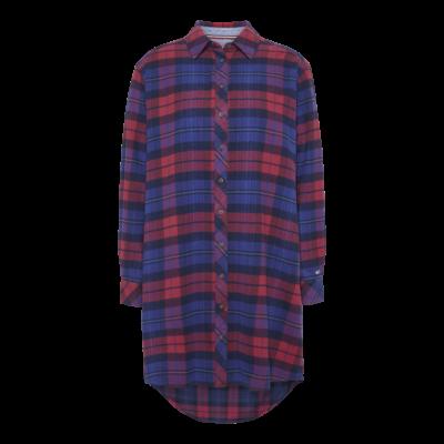 Tommy_jeans_Skjorte_Kjole_tern_multi