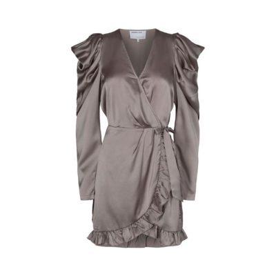 Designers_Remix_Grå_Bronze_Slå_om_kjole