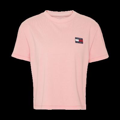 Tommy_jeans_T-shirt_Lyserød