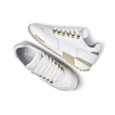 Via_Vai_sneakers_Hvid_beige_guld_SS20