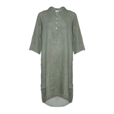 Tiffany_Linen_Dress_Long_Army