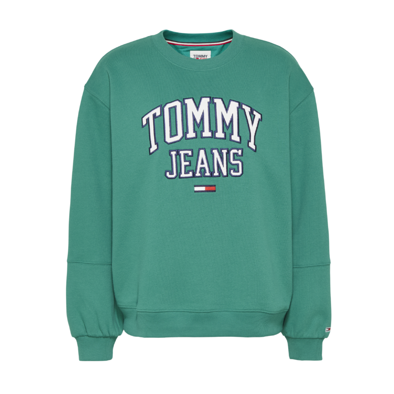 Tommy_Jeans_Sweat_Grøn