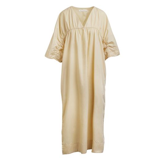 Ina - Gathered Dress - Bone